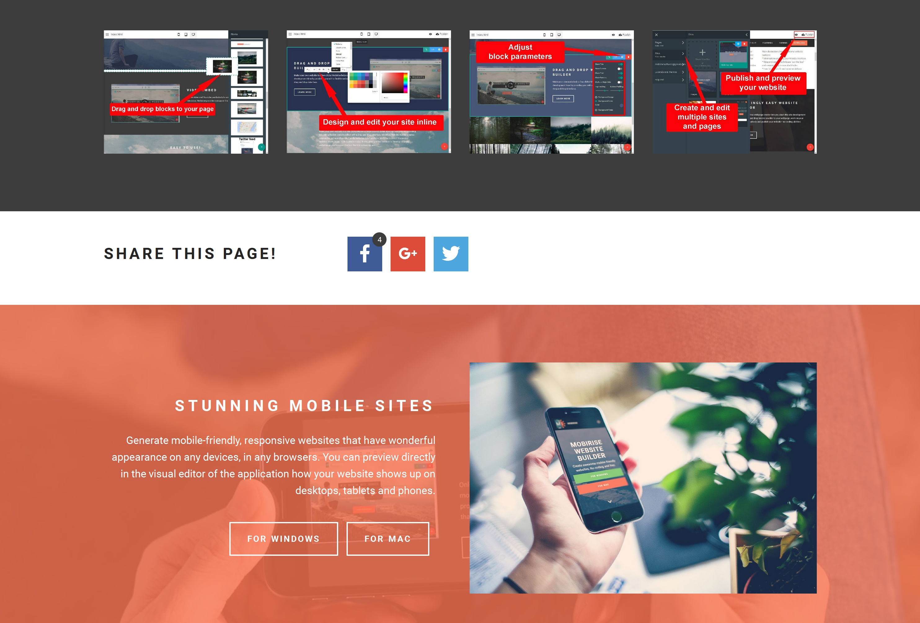Bootstrap Simple Website Builder Review