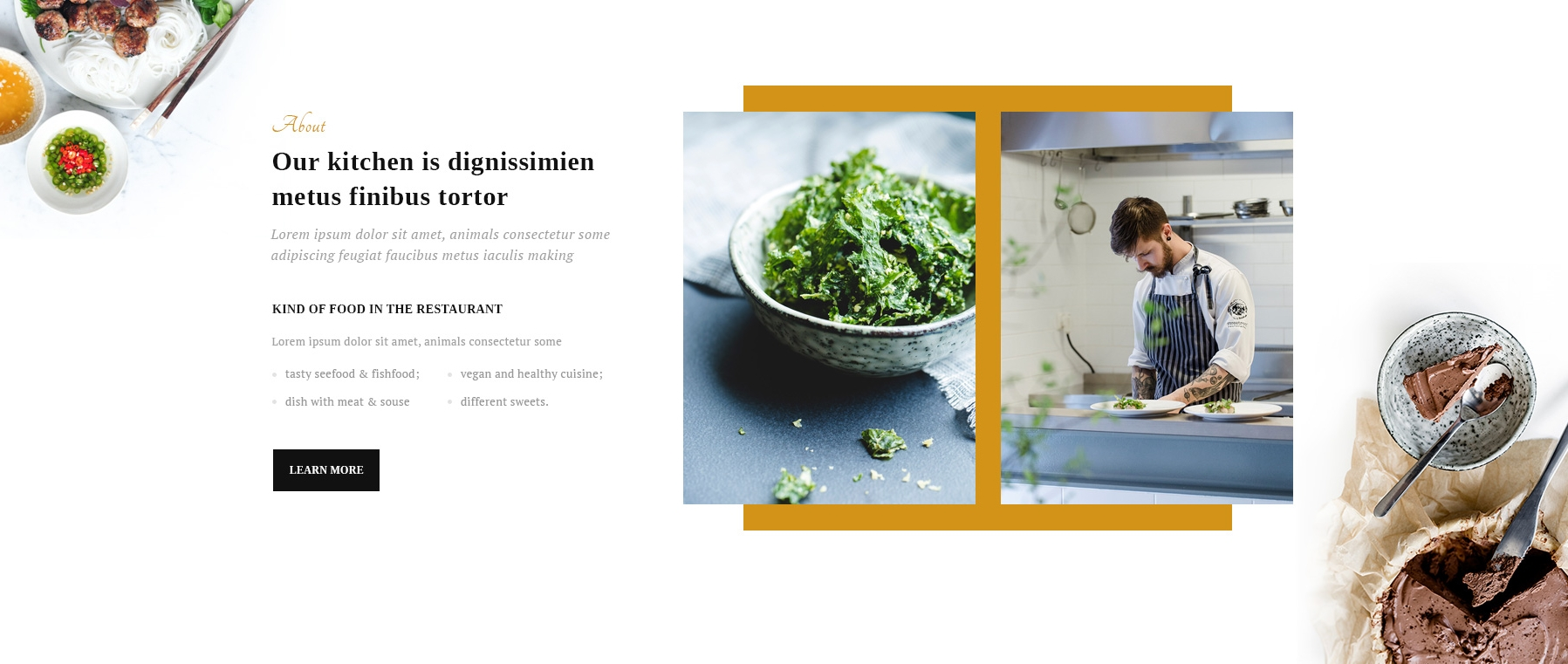 Free Download Bootstrap Restaurant Theme