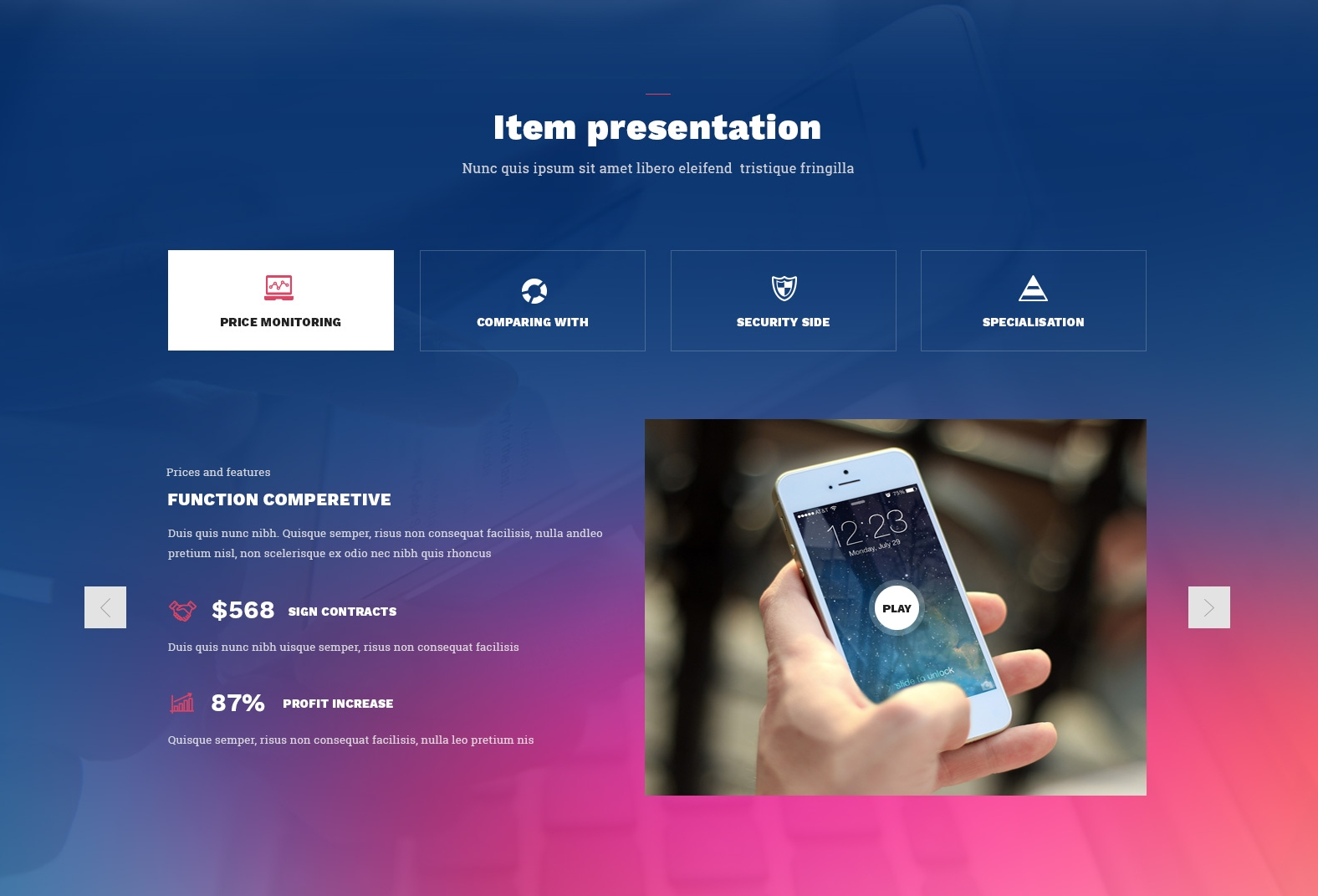 Responsive Bootstrap Hotel Theme