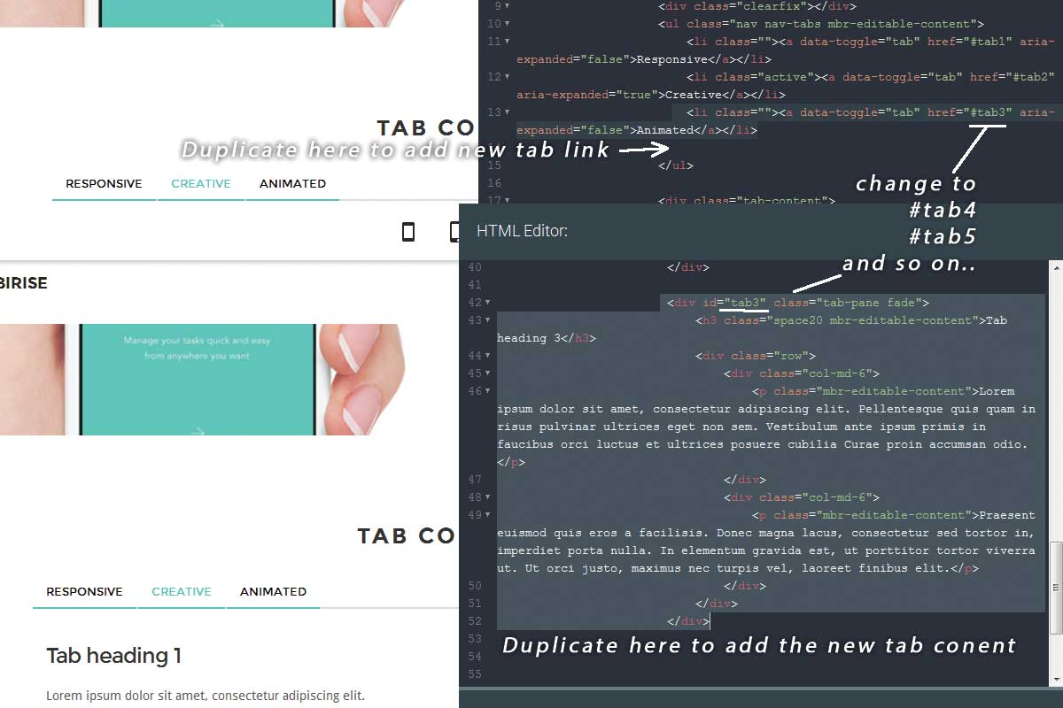 Premium Bootstrap One Page Theme