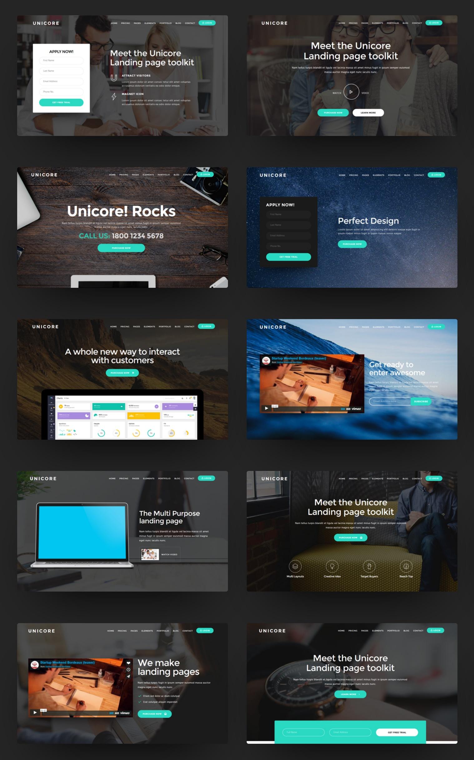 Premium Bootstrap Portfolio Theme