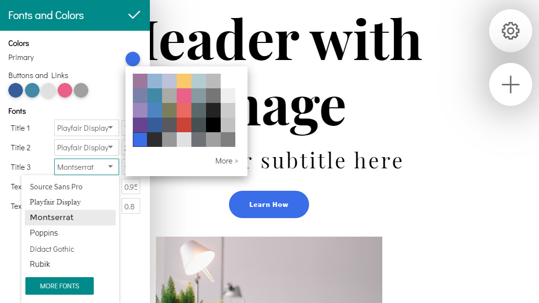 Mobile Bootstrap Creator